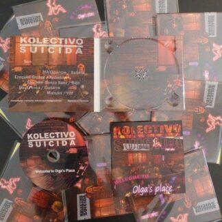 CD olgas place de Kolectivo Suicida metal urbano